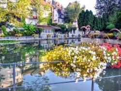 Photo paysage et monuments, Dole - Dole Jura - Canal des tanneurs 2016.