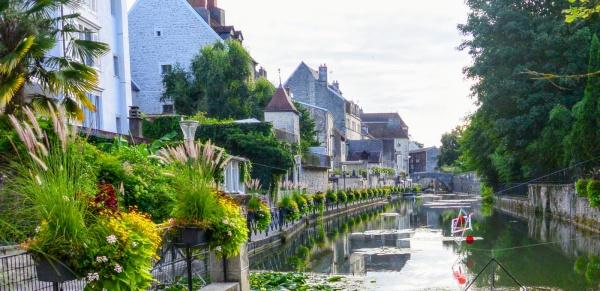 Dole Jura. Canal des Tanneurs 2017.
