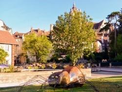 Photo paysage et monuments, Dole - Dole Jura. Juillet 2018. Quartier du Prélot.