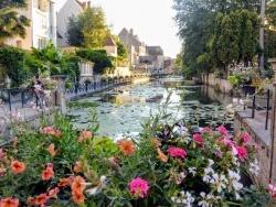 Photo paysage et monuments, Dole - Dole Jura; canal des tanneurs 2020