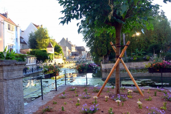 Dole Jura; canal des tanneurs 2020.B.