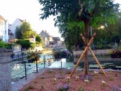 Photo paysage et monuments, Dole - Dole Jura; canal des tanneurs 2020.B.
