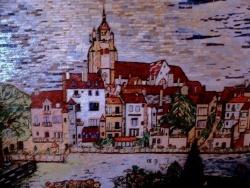 Photo dessins et illustrations, Dole - Dole.Jura-Vue sur Collégiale Notre-Dame.