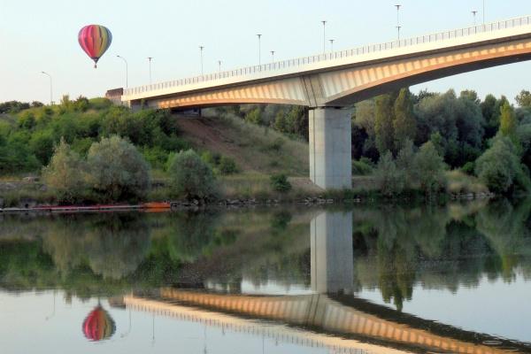 Photo Dole - Dole Jura-Le pont de la Corniche.Juillet 2013.