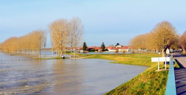 Photo Longwy-sur-le-Doubs - Longwy-sur- le Doubs. Champ de foire janvier 2018.A