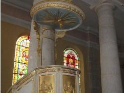 Photo paysage et monuments, Morbier - La chaire de l'église