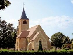 Neublans-Abergement (39) - Neublans Jura.Eglise Saint-Etienne. Août 2017.