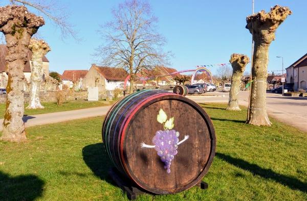 Ruffey-sur-Seille,Jura, percée du vin jaune 02 2020.A