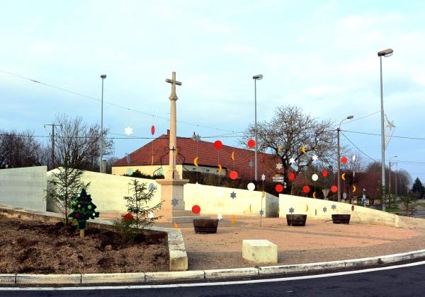 Saint-Aubin Jura.Décembre 2015.