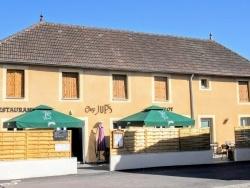 Photo paysage et monuments, Saint-Aubin - Saint-Aubin Jura. Restaurant route de Dijon.