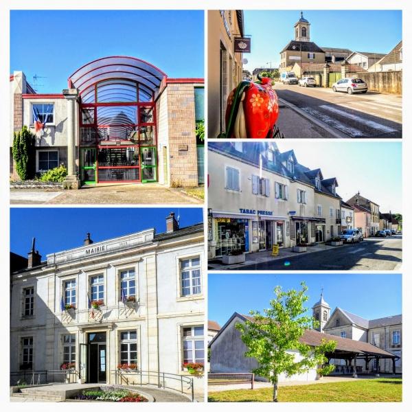 Saint-Aubin Jura. Juillet 2020.