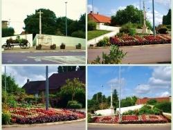 Photo paysage et monuments, Saint-Aubin - Saint aubin-Jura:rond-point.