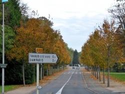 Photo paysage et monuments, Tavaux - Tavaux Jura-Avenue de la République,Octobre 2013.