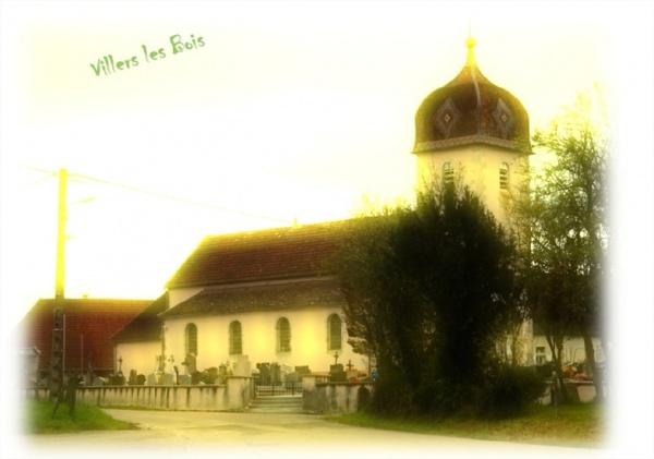 Photo Villers-les-Bois - VILLERS LES BOIS / JURA l'Eglise