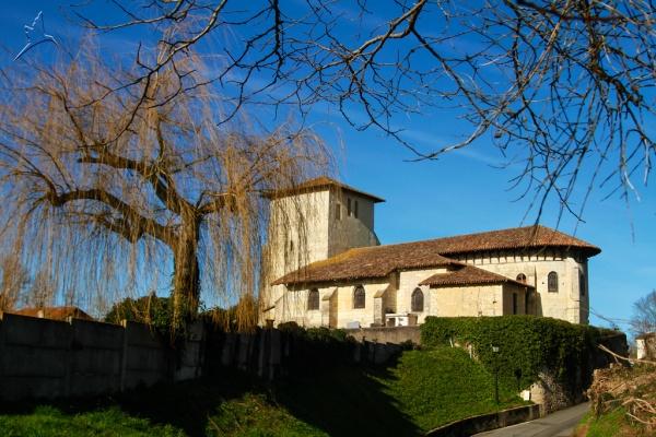 Photo Montfort-en-Chalosse - Église Saint-Pierre