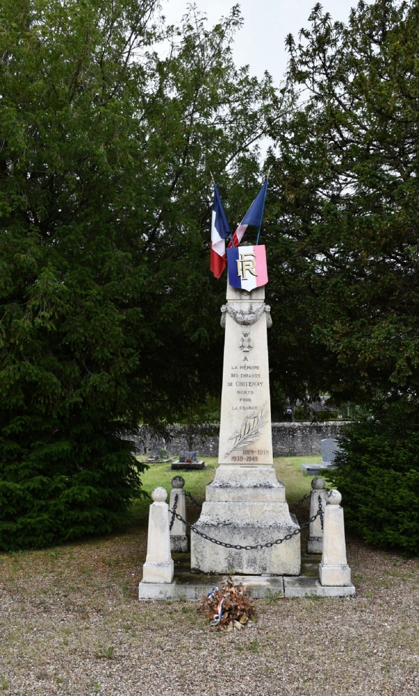 Photo Chitenay - le Monument Aux Morts