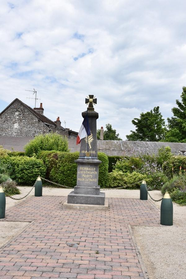 Photo Herbault - le Monument Aux Morts