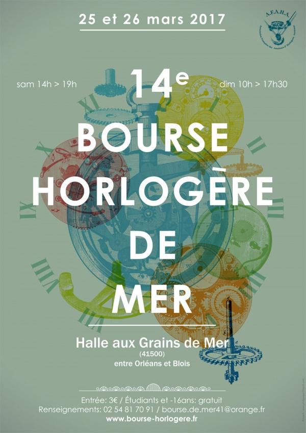 14ème BOURSE HORLOGÈRE DE MER – 25 & 26 MARS 2017