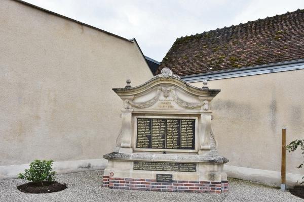 Photo Mur-de-Sologne - le Monument Aux Morts