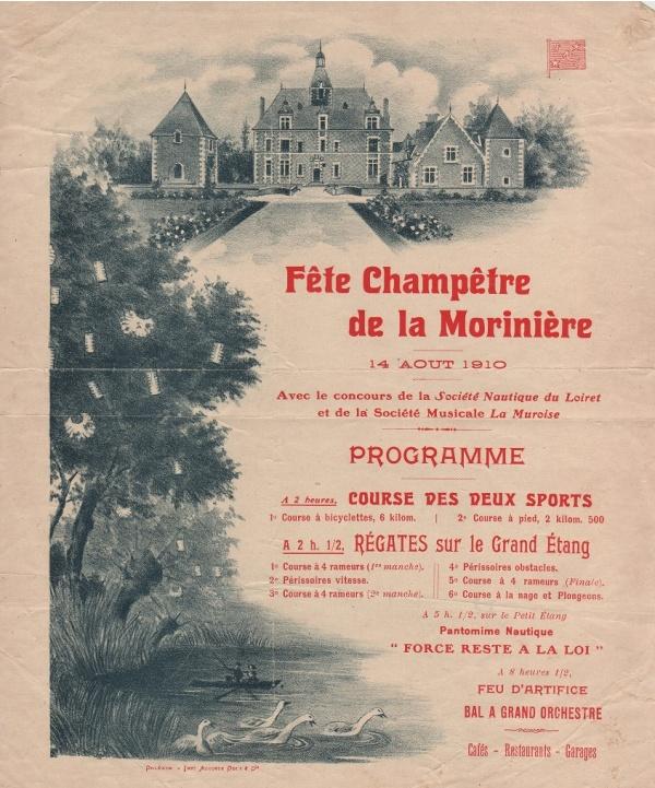 affiche de la Moriniere