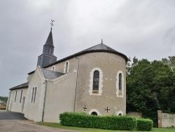Photo paysage et monuments, Rilly-sur-Loire - église sainte Eugenie