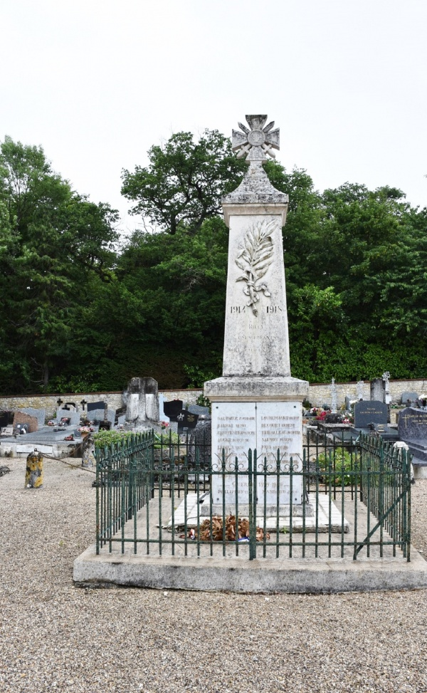 Photo Rilly-sur-Loire - le Monument Aux Morts