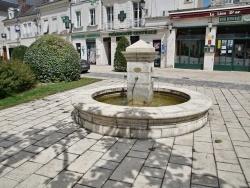 Photo paysage et monuments, Selles-sur-Cher - la Fontaine
