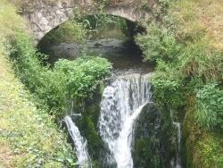 Photo paysage et monuments, Villedieu-le-Château - Petite cascade