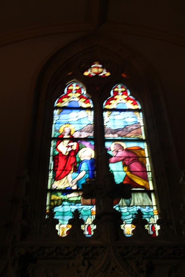 Photo Roanne - vitraux église saint Etienne