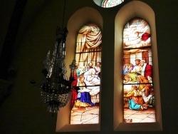 Photo paysage et monuments, Loudes - vitraux église saint hilaire