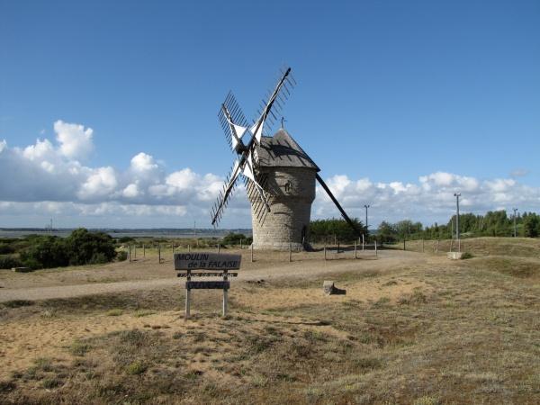 Photo Piriac-sur-Mer - Le moulin de la falaise Batz sur mer