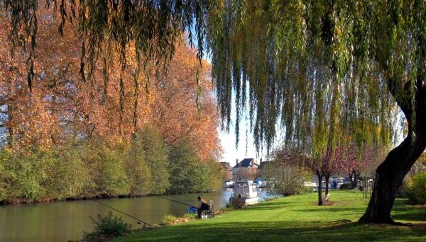 Photo Briare - Briare Loiret - journée d'automne au Baraban.