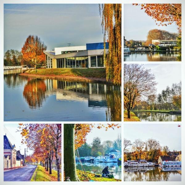 Briare Loiret. L'automne.