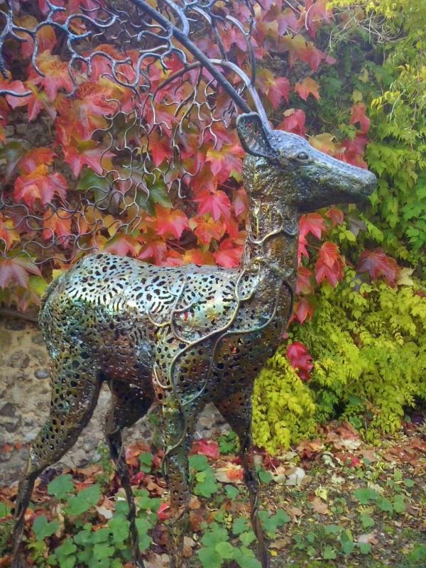 Photo Cerdon - sculpture animalière de Didier Dantras