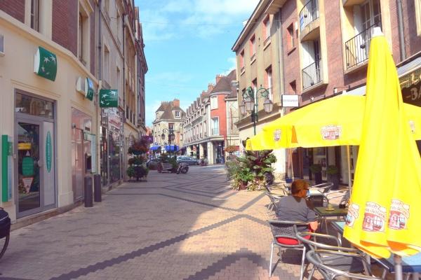 Les rues de Gien.Loiret.