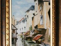 Photo dessins et illustrations, Montargis - Peinture à l'huile de Gérard victoire artiste peintre à Ladon