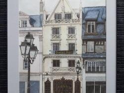 Photo dessins et illustrations, Montargis - Confiserie Mazet