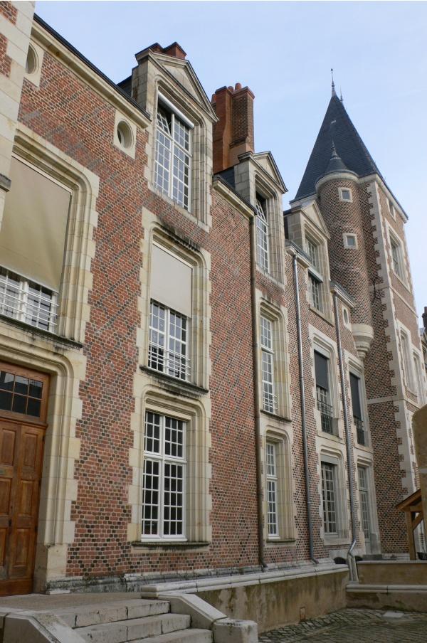Hôtel Brachet dit de la Vieille-Intendance, côté cour