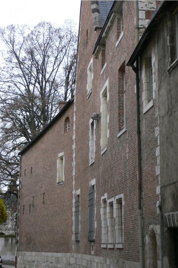 Hôtel Brachet dit de la Vieille-Intendance, côté rue des Huguenots