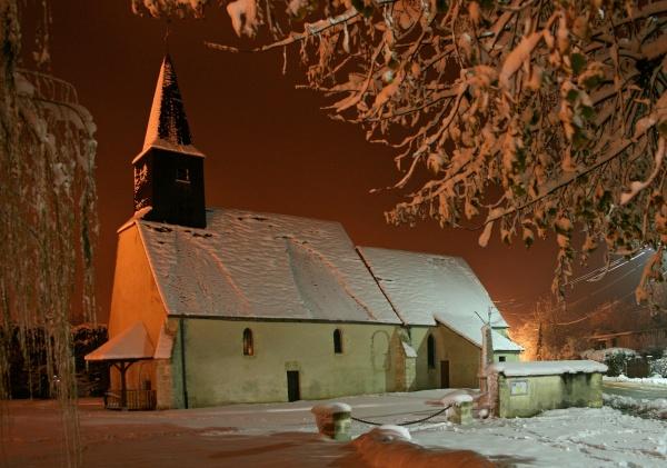L'église en manteau d'hiver, novembre 2010