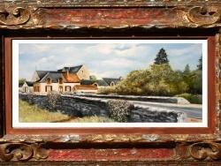 Photo dessins et illustrations, Quiers-sur-Bézonde - huile de Gérard victoire artiste peintre à Ladon