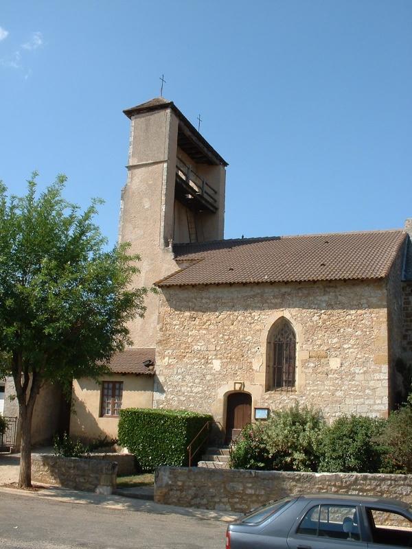 Église Saint-Laurent à Anglars-Juillac