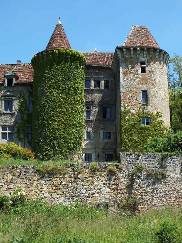 Château de Ceint-d'Eau à Figeac