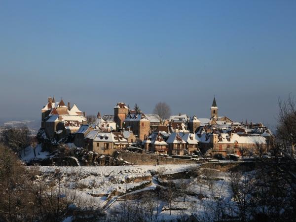 Photo Loubressac - Loubressac sous la neige janvier 2013