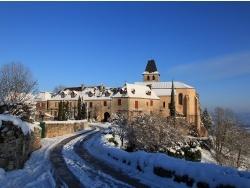 Photo paysage et monuments, Loubressac - Loubressac sous la neige janvier 2013