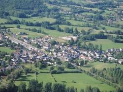 Photo paysage et monuments, Les Quatre-Routes-du-Lot - les quatre-routes du lot ( vue aérienne )