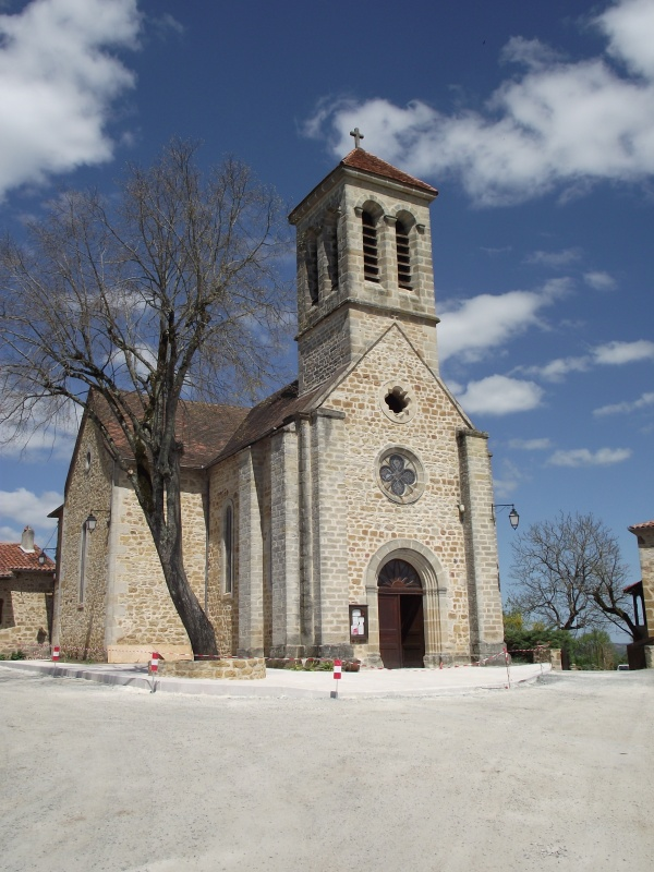 Photo Saint-Jean-Mirabel - Eglise Saint-Jean-Baptiste de Saint-Jean-Mirabel