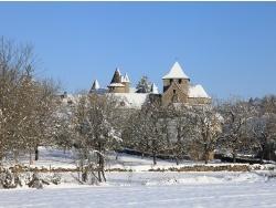 Photo paysage et monuments, Thégra - Thégra sous la neige janvier 2013