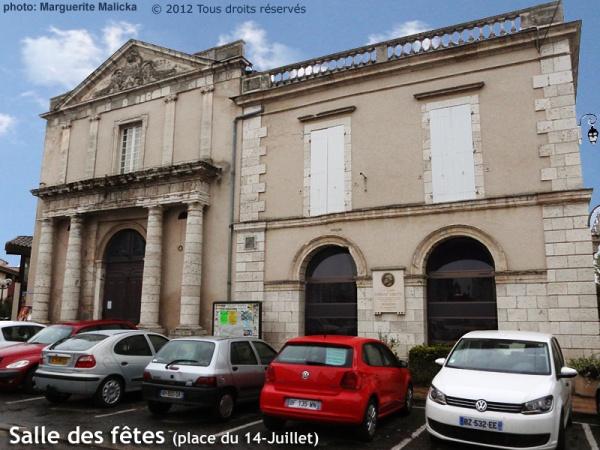 Photo Aiguillon - Salle des fêtes - ancienne église des Carmes