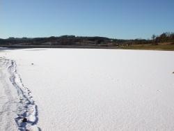 Photo paysage et monuments, Bajamont - Lac  gelé